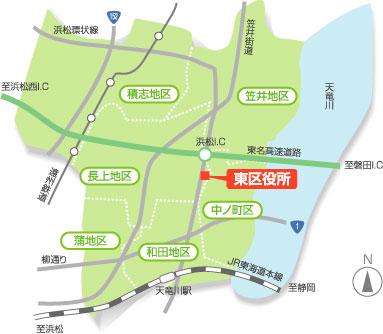 区 浜松 東
